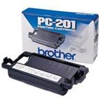 Originale Brother PC-201 Nastro TTR nero