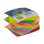 Cubo Twist colorato 500ff 85X85mm