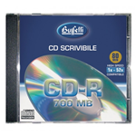 CD-R scrivibile - 700 MB - jewel case - Silver
