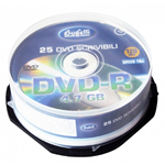 DVD-R - 4,7 GB - spindle da 25 - Silver