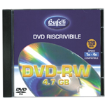 DVD-RW - 4,7 GB - jewel case - Silver