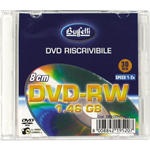 DVD-RW Mini 8cm - 1,46 GB - slim case - Silver