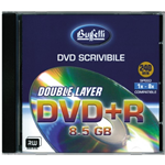 DVD+R DL - 8,5 GB - jewel case - Silver