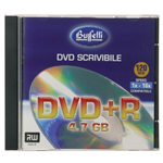DVD+R - 4,7 GB - jewel case - Silver