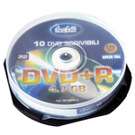 DVD+R - 4,7 GB - spindle da 10 - Silver