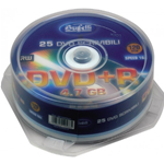 DVD+R - 4,7 GB - spindle da 25 - Silver