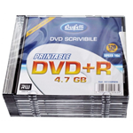 DVD+R - 4,7 GB - slim case - Stampabile inkjet