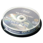 CD-R scrivibile - 700 MB - spindle da 10 - Silver