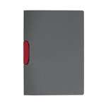 Cartellina Duraswing Color Buffetti by DURABLE - PPL- 29,7x21 cm - clip rosso