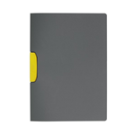 Cartellina Duraswing Color Buffetti by DURABLE - PPL- 29,7x21 cm - clip giallo