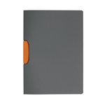Cartellina Duraswing Color Buffetti by DURABLE - PPL- 29,7x21 cm - clip arancio