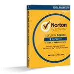 Symantec Norton AntiVirus 2014 - Abbonamento Full 5 PC