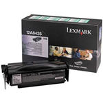 Originale Lexmark 12A8425 Toner alta resa return program nero